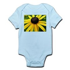 Yellow Flower965 Infant Creeper