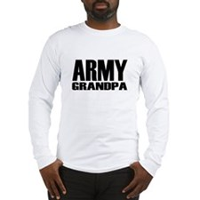 Army Grandpa Caps Long Sleeve T-Shirt