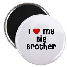 "I * My Big Brother 2.25"" Magnet (10 pack)"