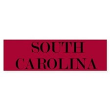 South Carolina Bumper Bumper Sticker