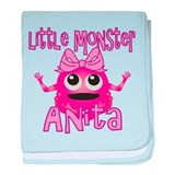 Little Monster Anita baby blanket