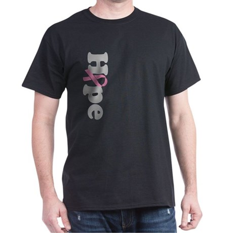 Hope Breast Cancer Dark T-Shirt