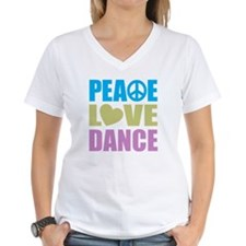 Peace Love Dance Shirt