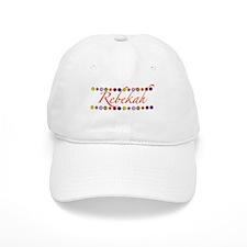 Rebekah with Flowers Baseball Cap