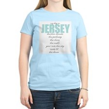 My Day in Jersey Women's Pink T-Shirt