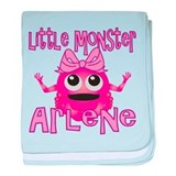 Little Monster Arlene baby blanket