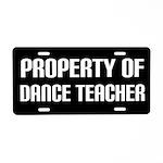 Dance Teacher License Plate