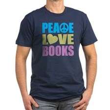 Peace Love Books T