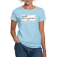 Neuter Women's Pink T-Shirt