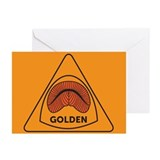 Golden Redhorse Greeting Cards (Pk of 10)