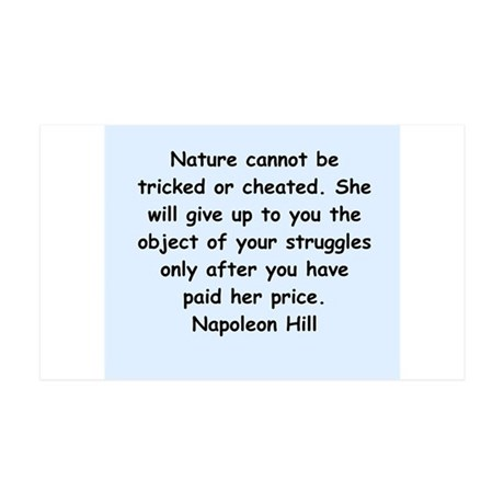 Napolean Hill quotes 38.5 x 24.5 Wall Peel