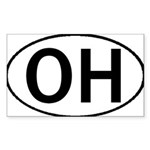 OHIO OVAL STICKERS & MORE! Sticker (Rectangle 10 p