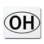 OHIO OVAL STICKERS & MORE! Mousepad