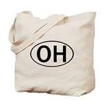 OHIO OVAL STICKERS & MORE! Tote Bag