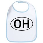 OHIO OVAL STICKERS & MORE! Bib