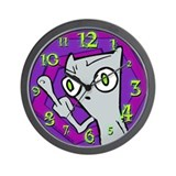 "Foamy ""The Finger"" Wall Clock"