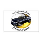 Saturn Sky Car Magnet 20 x 12