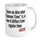 Dexter Hammer Vs Regular Time Mug