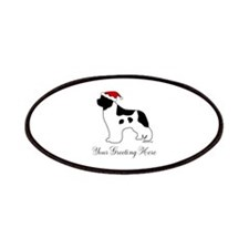 Landseer Santa - Your Text Patches