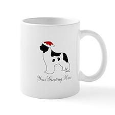Landseer Santa - Your Text Mug