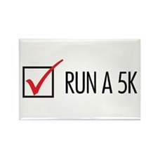 Run a 5k Rectangle Magnet