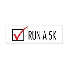 Run a 5k Car Magnet 10 x 3