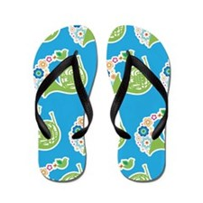 French Horn Music Flip Flops