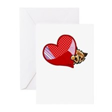 Love Norwich Terriers Greeting Cards (Pk of 20)