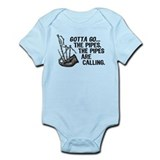 Funny Bagpipes Infant Bodysuit