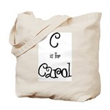 C Is For Carol Tote Bag