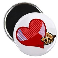 "Love Norwich Terriers 2.25"" Magnet (100 pack)"