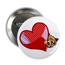 "Love Norwich Terriers 2.25"" Button (100 pack)"