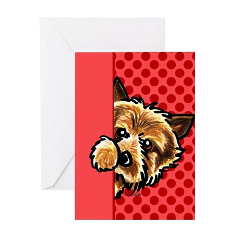 Norwich Terrier Lover Greeting Card