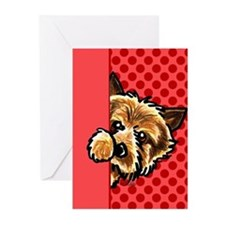 Love Norwich Terriers Greeting Cards (Pk of 10)
