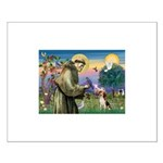 St Francis/Beagle Small Poster