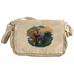 St Francis #2/ B Shepherd Messenger Bag
