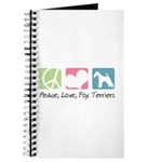 Peace, Love, Fox Terriers Journal