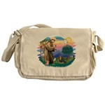 St.Francis #2/Cavalier (BT) Messenger Bag