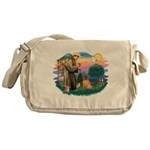 St.Francis #2/ Shar Pei (#3) Messenger Bag