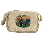 St.Francis #2/ Dobie (cropped Messenger Bag