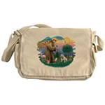 St.Francis #2/ Eng Bull (W #1 Messenger Bag