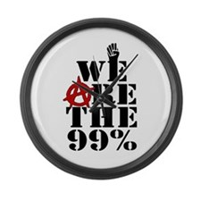 We Are The 99% -- Occupy Wall Street Large Wall Cl
