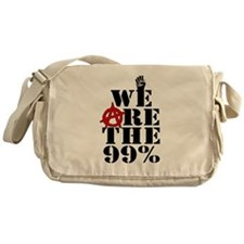 We Are The 99% -- Occupy Wall Street Messenger Bag