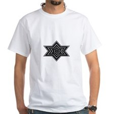 Gray and Black Star T-Shirt