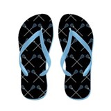 Lacrosse Player Flip Flops