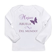 World's Best Grandma Long Sleeve Infant T-Shirt