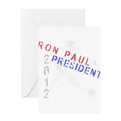 Ron Paul 4 President Greeting Card