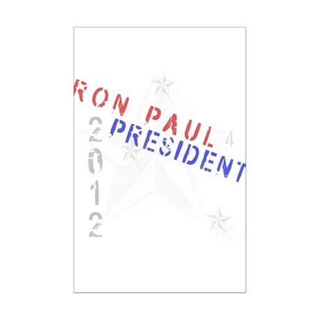 Ron Paul 4 President Mini Poster Print