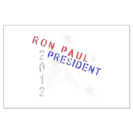 Ron Paul 4 President Large Poster
