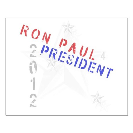 Ron Paul 4 President Small Poster